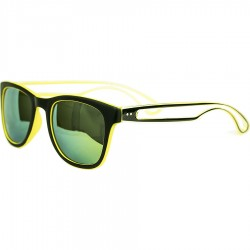 Ellesse Double Color Model Aluminum Mirrored Sun Mirror with Yellow Mirror Sunglass