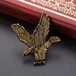 Fashion Moon Eagle Shaped Brooch
