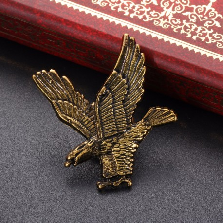 Fashion Moon Eagle Shaped Brooch