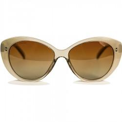 Club Ellesse Çekik Gözlü Model Parlak Sütlü Kahve Kemik Kadın Güneş Gözlüğü