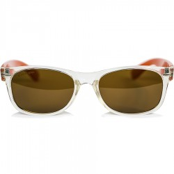 Ellesse Transparent Model Orange Handle Frame Sunglasses
