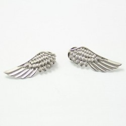 FashionMoon Wing Model Necklace Brooch