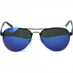 Ellesse Sport Damla Modeli Yarım Siyah Çerçeveli Mavi Aynalı Güneş Gözlüğü
