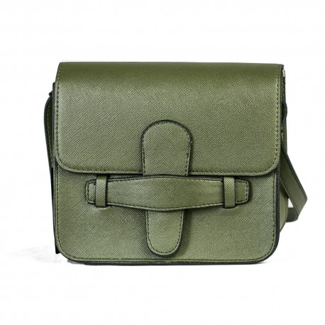 Koton Model Haki Yeşili Küçük Kare Omuz Çantası