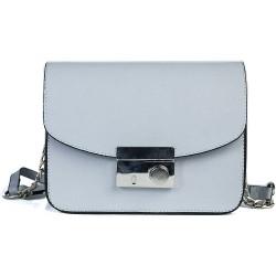 Cotton Model Floral Blue Color Small Square Shoulder Bag