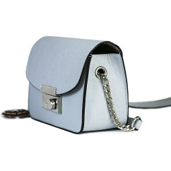 Koton Model Çiçekli Mavi Renk Küçük Kare Omuz Çantası