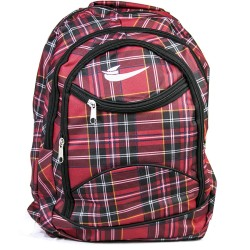 Cool Red Color Red Fabric Backpack