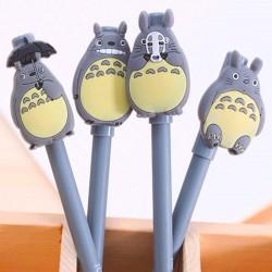 Totoro Figure Set with Ballpoint Pen 2