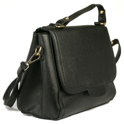 FashionMoon Black Color Shoulder Bag
