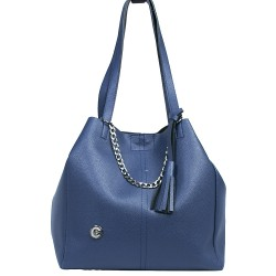 Chain Navy Blue Color Shoulder Bag