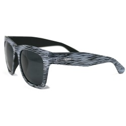 Fashion Moon Wooden View Model White Frame Sunglasses