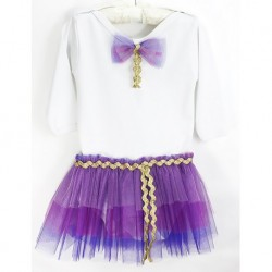 Baby Body Purple Tutu