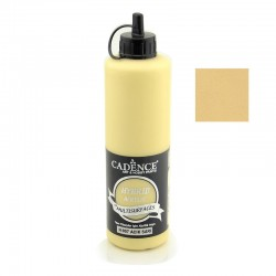 Cadence Hybrid Acryilic For All Surfaces Multisulfaces H-007 Light Yellow 500ml