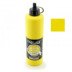 Cadence Hybrid Acryilic Multisulfaces For All Surfaces H-008 Lemon Yellow 500ml