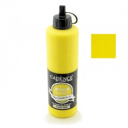 Cadence Hybrid Acryilic Multisulfaces For All Surfaces H-009 Yellow 500ml