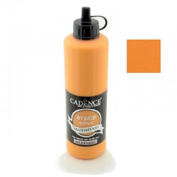 Cadence Hybrid Acrylic Multisurfaces For All Surfaces H-011 Light Orange 500ml