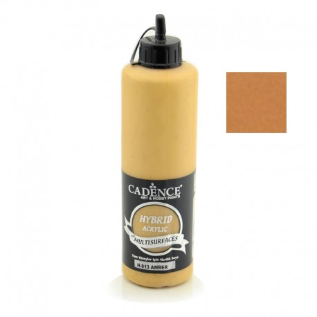 Cadence Hybrid Acrylic Multisulfaces For All Surfaces H-013 Amber 500ml