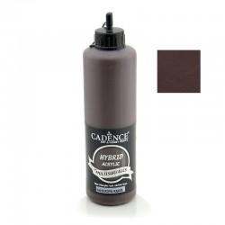 Cadence Hybrid Acrylic Multisulfaces For All Surfaces H-018 Dark Brown 500ml