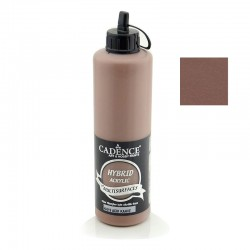 Cadence Hybrid Acrylic Multisulfaces For All Surfaces H-019 Hot Coffee For All 500ml
