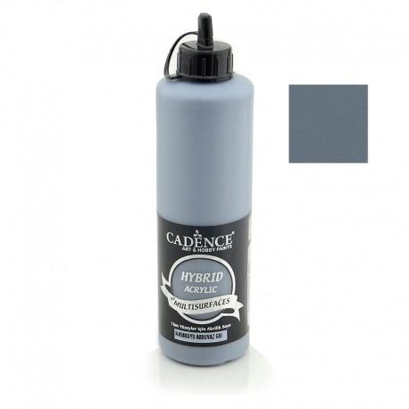 Cadence Hybrid Acrylic For Tüm Yüzeyler İçin Multisulfaces H-058 Koyu Arduvaz Gri 500ml