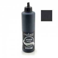 Cadence Hybrid Acrylic For All Surfaces Multisulfaces H-060 Black 500ml