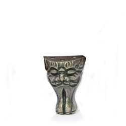 Lion Head Box Pillar Bronze Color