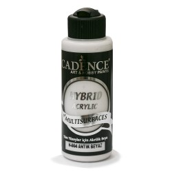 Cadence Acrylic Paint For All Surfaces H-004 Antique White