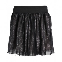 Zara Kids Black Mesh Children's Skirt