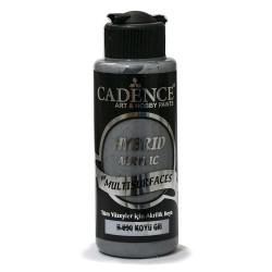 Cadence Tüm Yüzeyler İçin Akrilik Boya H-090 Koyu Gri