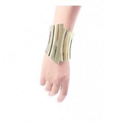 Wander Women Model Matte Brilliant Combined Thick Bracelet