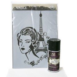 Cadence Eiffel Tower Stencil Set