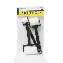 Art Tools Plastik Süngerli 3'lü Rulo Seti