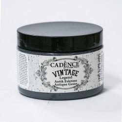 Cadence Antik Eskitme Vintage VL-10 Koyu Arduvaz Gri Boya