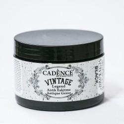 Cadence Antique Tumbled Vintage VL-13 Black Paint 150ml