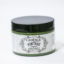 Cadence Antique Tumbled Vintage VL-07 Leaf Green Paint 150ml