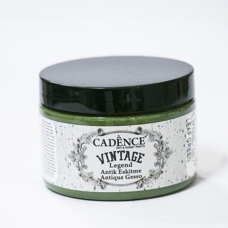 Cadence Antik Eskitme Vintage VL-07 Yaprak Yeşili Boya