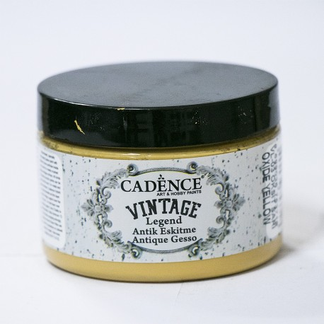 Cadence Antik Eskitme Vintage VL-03 Oksit Sarı Boya
