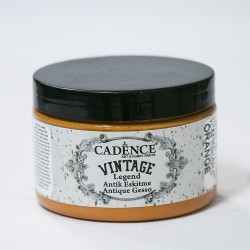 Cadence Antique Tumbled Vintage VL-04 Orange Paint 150ml
