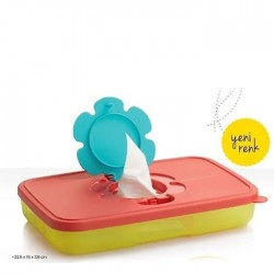 Tupperware Tissue Box Thin