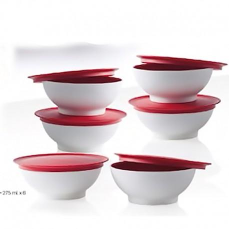 Micro Clear Dessert Bowls 6 pcs