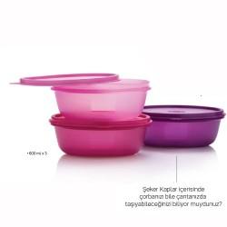 Tupperware Şekerpare Triple 600ml