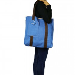 Design Jeans Cloth Front Shoulder Bag with Shoulder Bag