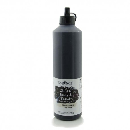 Black Chalkboard Paint 2600 - 750ML