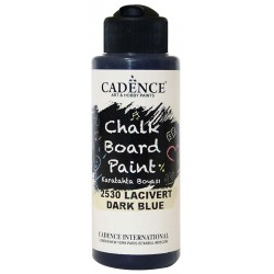 Dark Blue Kara Tahta Boyası 2530 120ml
