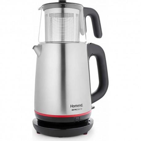 Homend 1718 Royaltea Tea Maker With Glass Teapot