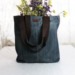 Design Plain Old Fashioned Shoulder Bag with Kot Fabric