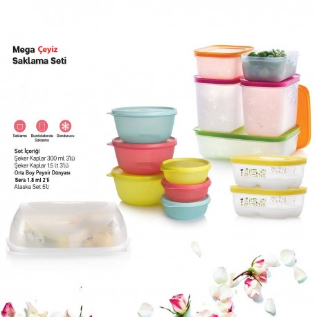 Tupperware Mega Dowry Storage Set