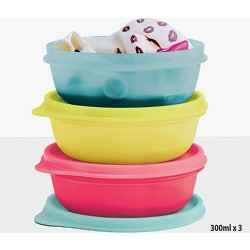 Tupperware Candy Utensils Set of 3 Colored