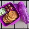 Tupperware Division Purple Color Nutrition Set