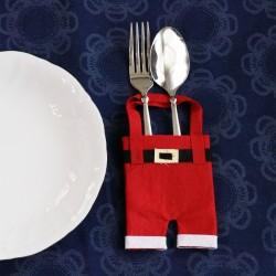 Handmade Santa Claus Felt Pants Christmas Ornament